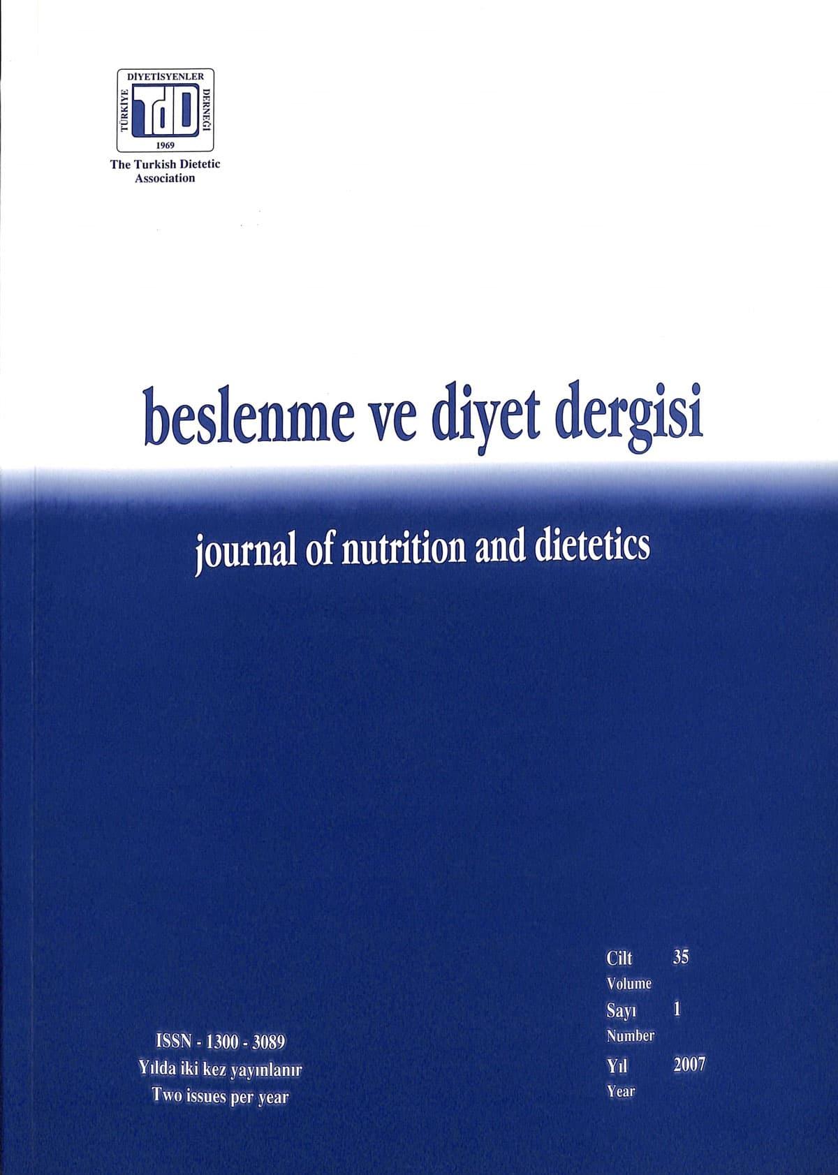 Cilt 35 Sayı 1 (2007)