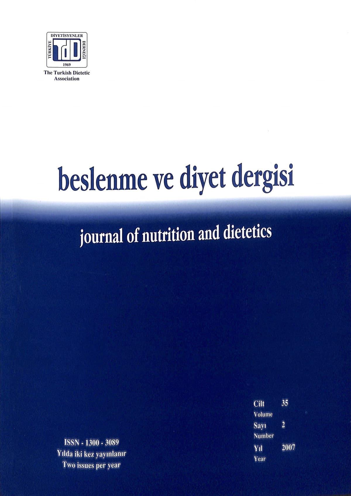 Cilt 35 Sayı 2 (2007)