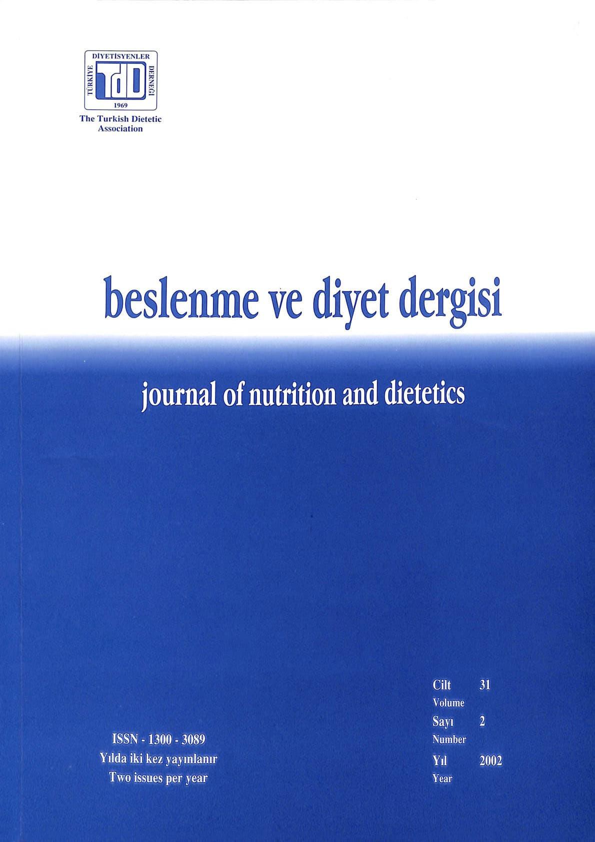 Cilt 31 Sayı 2 (2002)