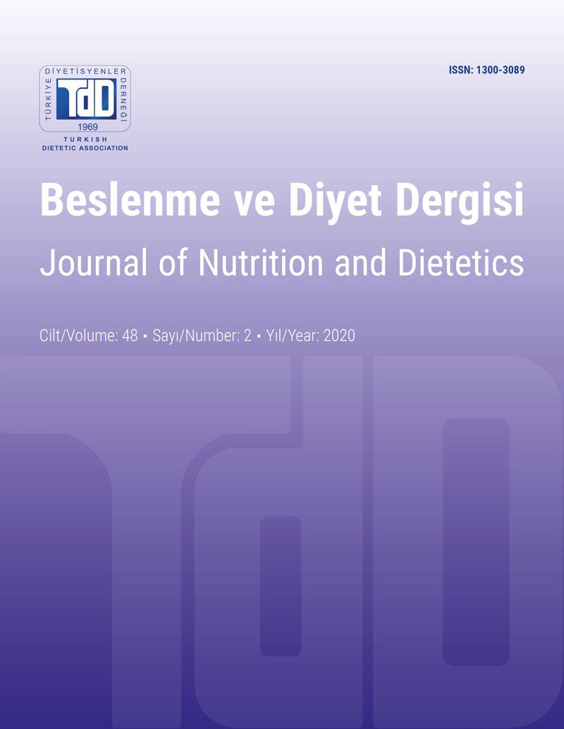 Beslenme ve Diyet Cilt 48 Sayı 2